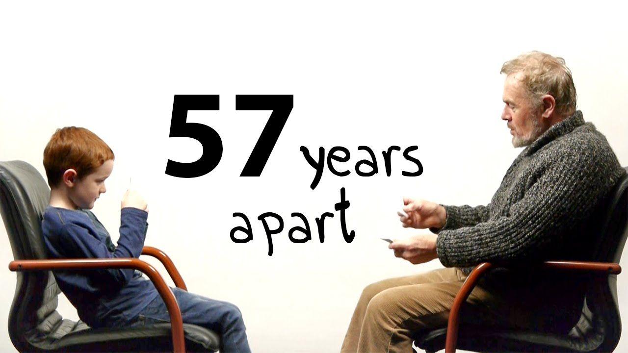 57 godina razlike: Dečak i čovek pričaju o životu