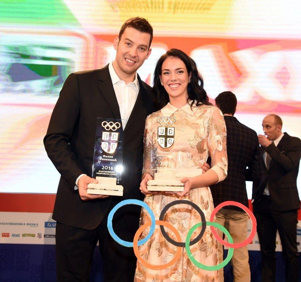 Filip Filipović i Tijana Bogdanović
