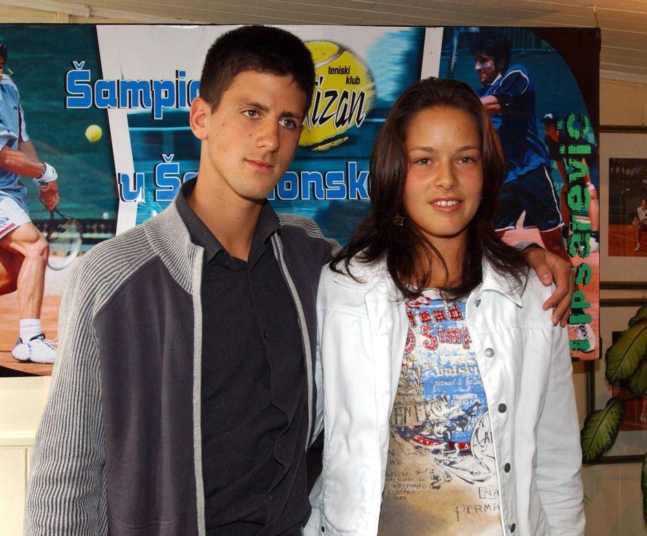 Ana Ivanović i Novak Đoković
