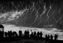 Džinovski talas obale Portugala snimljen u 4K