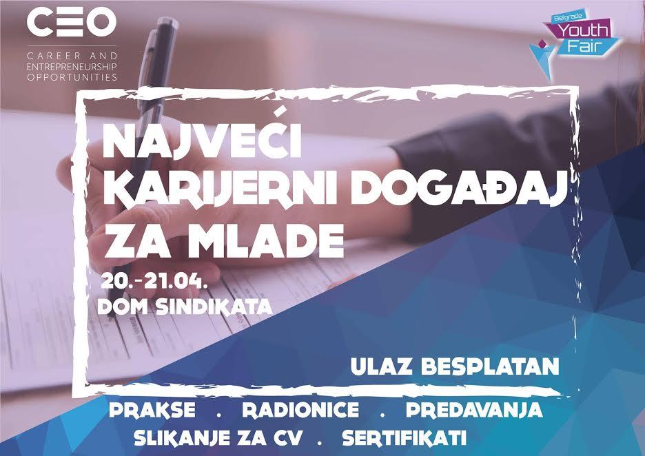 Belgrade youth fair - Tvoja šansa