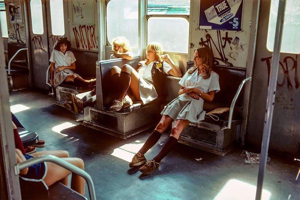 Metro grada Njujorka uslikan osamdesetih