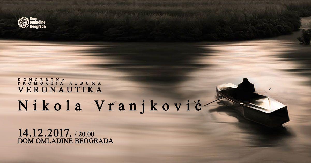 Veliki koncert Nikole Vranjkovića u Domu omladine Beograda