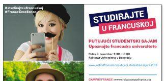 Putujući studentski sajam 2018 - Studiraj u Francuskoj